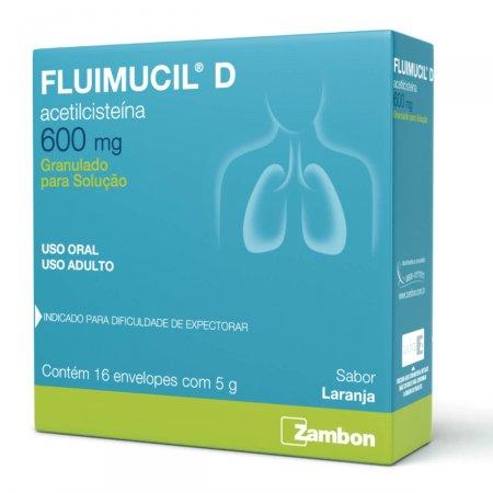 Fluimucil D 600mg