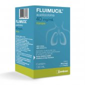 FLUIMUCIL  ADULTO 40 MG XAROPE COM 120 ML
