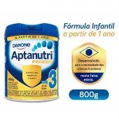 Fórmula Infantil Aptanutri Premium 3 Danone 12 a 36 meses com 800g