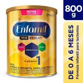 Fórmula Infantil Enfamil Premium 1 para 0 a 6 meses com 800g