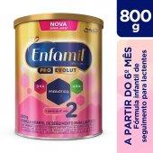 Fórmula Infantil Enfamil Premium 2 com 800g