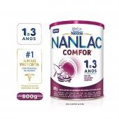 Fórmula Infantil NAN Comfor 3/Nanlac Comfor 1+ com 800g