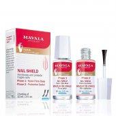 Fortificante para Unhas Mavala Nail Shield 2 Passos com 10ml