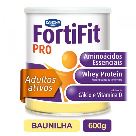Suplemento Nutricional Fortifit PRO Sabor Baunilha