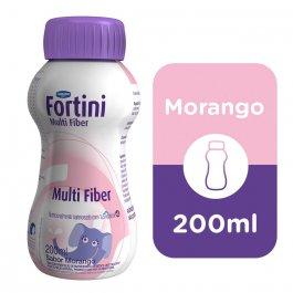 Fortini Multi Fiber Sabor Morango 200ml