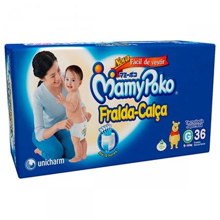 Fralda-Calça Mamypoko Tamanho G