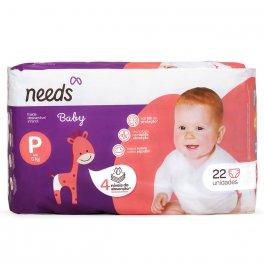 Fralda Descartável Needs Baby Tamanho P