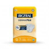 Fralda Descartável para Adulto Bigfral Derma Plus G com 7 unidades