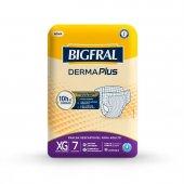 Fralda Descartável para Adulto Bigfral Derma Plus XG com 7 unidades