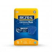 Fralda Geriátrica Bigfral Derma Plus Noturna G com 7 unidades