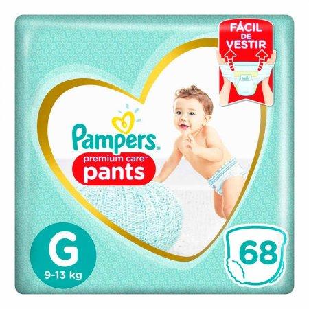Fralda Pampers Premium Care Pants Tamanho G