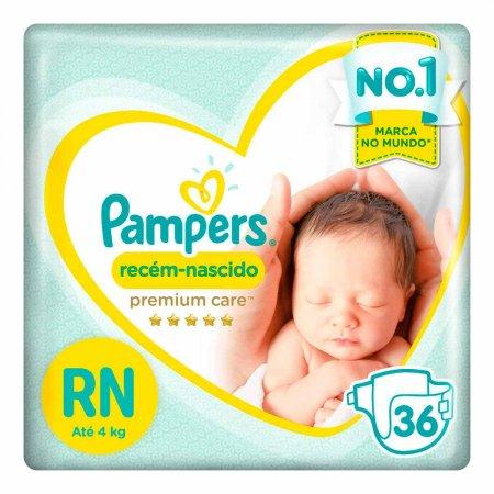 Fralda Pampers Premium Care Recém-Nascido
