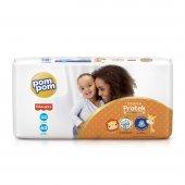 Fralda Pom Pom Protek Proteção de Mãe XG com 60 unidades