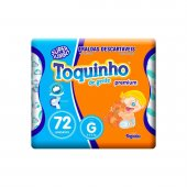 Fralda Toquinho de Gente Premium Tamanho G
