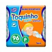 Fralda Toquinho de Gente Premium Tamanho P