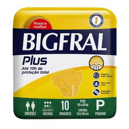 Fralda Geriátrica Bigfral Plus Tamanho P