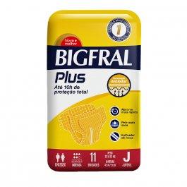 Fralda Juvenil Bigfral Plus com 11 unidades
