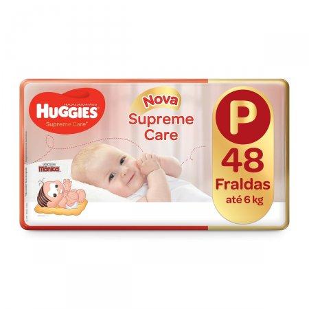 HUGGIES FRALDA SUPREME CARE UNISSEX MEGA P 48 UNIDADES