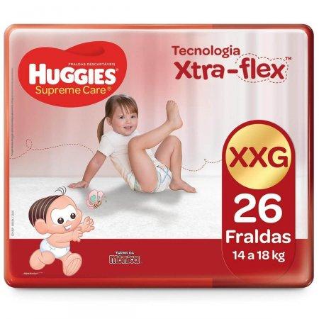 HUGGIES FRALDA SUPREME CARE UNISSEX MEGA XXG