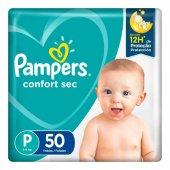 Fralda Pampers Confort Sec Tamanho P