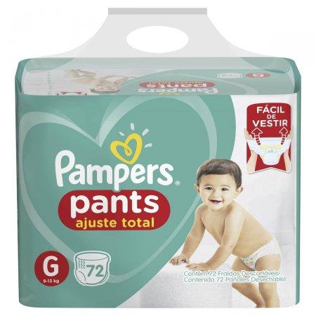 Fralda Pampers Pants Ajuste Total Tamanho G