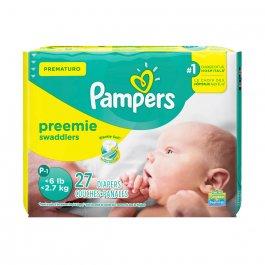 Fralda Pampers Prematuro com 27 unidades