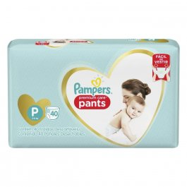 Fralda Pampers Premium Care Pants Tamanho P