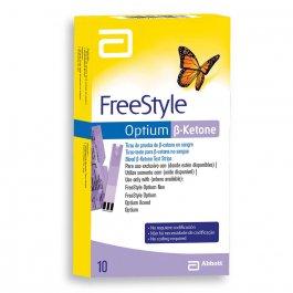 Tiras para Monitoramento da Glicemia Freestyle Optium Cetona com 10 unidades