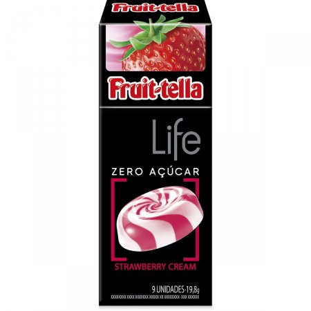 Fruittella Life Sabor Strawberry Cream