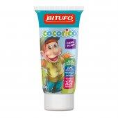 Gel Dental Infantil Bitufo Cocoricó Tutti-Fruti com Flúor com 90g