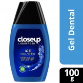 CLOSE UP CREME DENTAL LIQUI FRESH GEL 100G