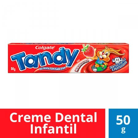 Gel Dental Colgate Tandy Morangostoso