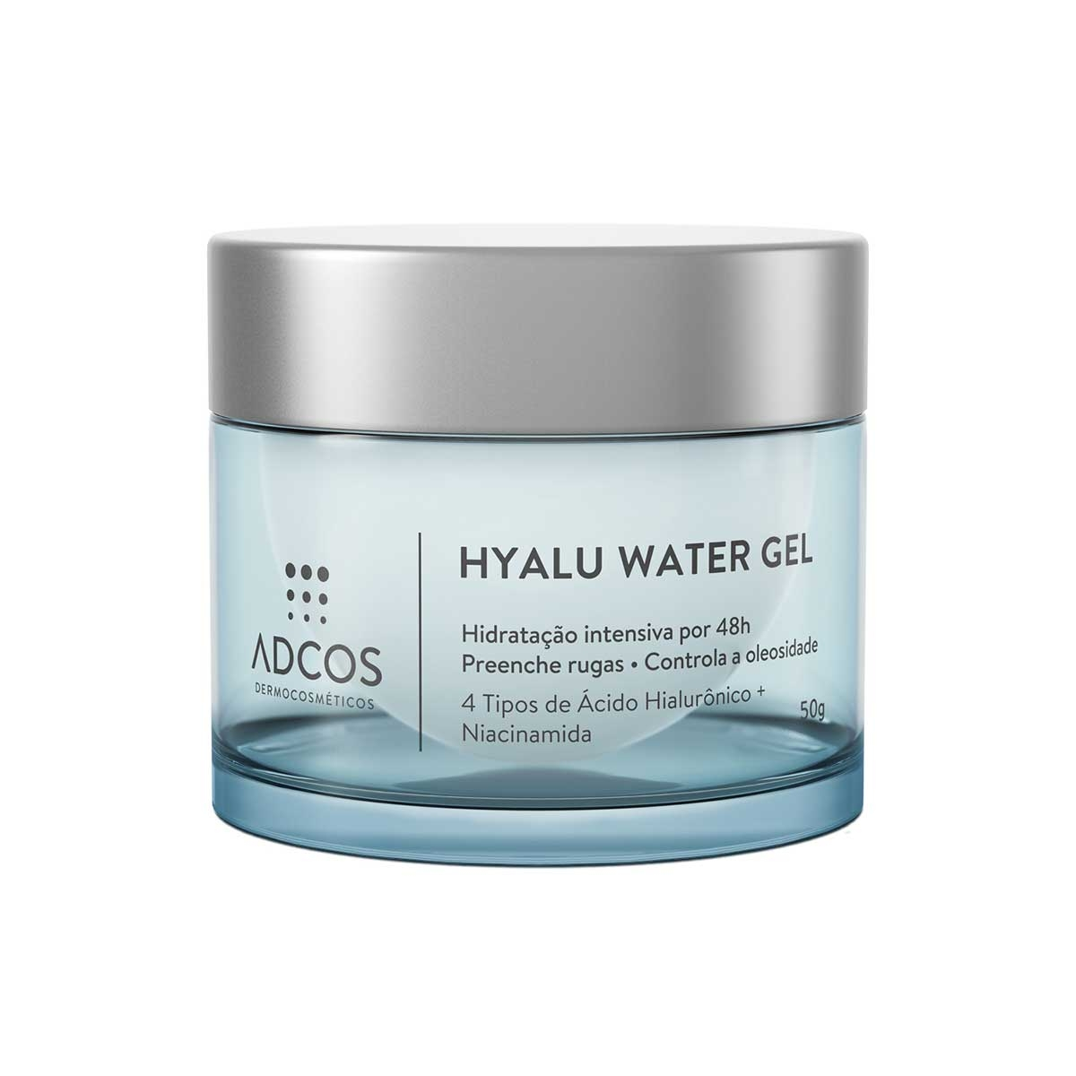 Gel Facial Adcos Hyalu Water Gel com 50g 50g