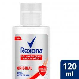 Álcool Gel 70% para Mãos Rexona Original com 120ml
