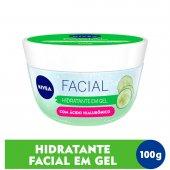 Hidratante Facial em Gel Nivea com Ácido Hialurônico com 100ml