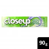 CLOSE UP GEL DENTAL ALOE VERA EXTRATO DE LIMAO E HORTELA FRESH 90G