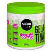 Gelatina Capilar Salon Line #To de Cacho Super Definição com 550g
