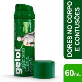 Gelol 0,0333ml/ml Aerosol com 60ml