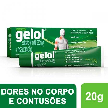 GELOL ANALGESICO POMADA 20 G