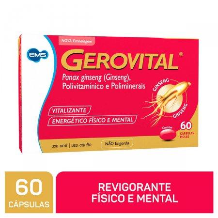 GEROVITAL COMPLEXO VITAMINICO 60 CAPSULAS GELATINOSAS