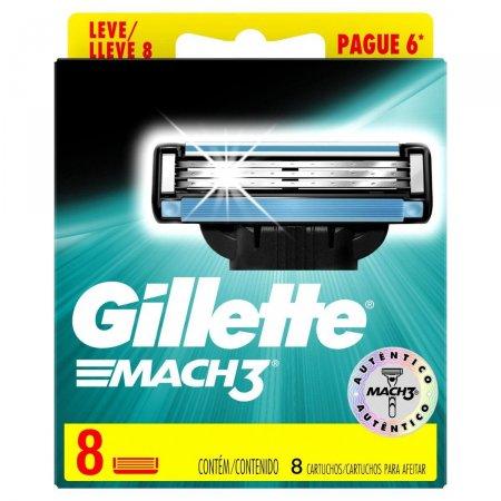 Lâminas para Aparelho de Barbear Gillette Mach3