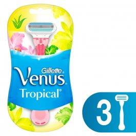 Aparelho de Depilar Gillette Venus Tropical com 3 unidades
