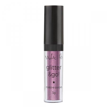 Iluminador Vult Glitter & Go! para Rosto e Corpo Conto de Fadas