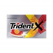 Goma de Mascar Trident X Senses Sour & Sweet Framboesa