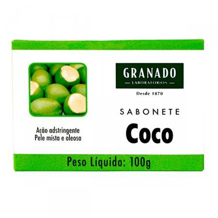 GRANADO SABONETE ESPECIAS COCO GLICERINA 100 G