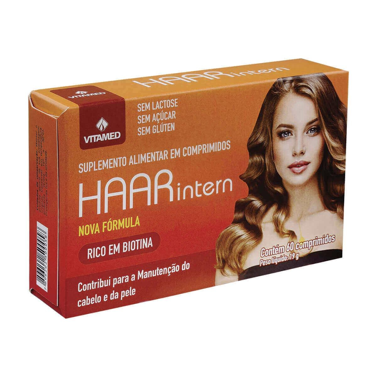 Suplemento Alimentar Haar Intern com 60 comprimidos Vitamed 60 Comprimidos