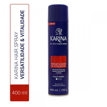KARINA HAIR SPRAY FIXACAO NORMAL 400ML