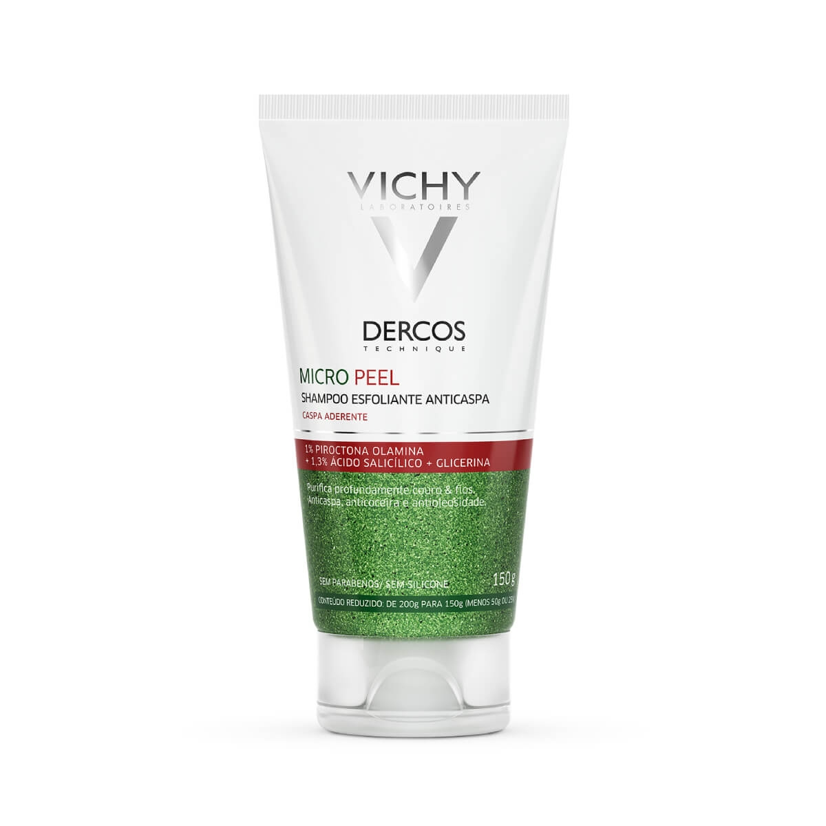 Shampoo Esfoliante Anticaspa Vichy Dercos Micro Peel com 150ml 150ml