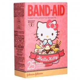 Band-Aid Curativos Hello Kitty com 25 unidades
