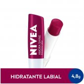 Hidratante Labial Nivea Amora Shine com 4,8g